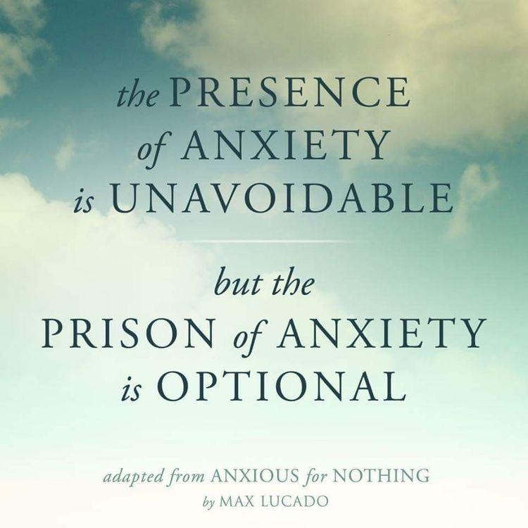 Anxiety ~ Lisa's Blog #7